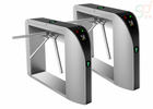 Fingerprint Security Waist Height Turnstile Attendance Railway Station Barrier
