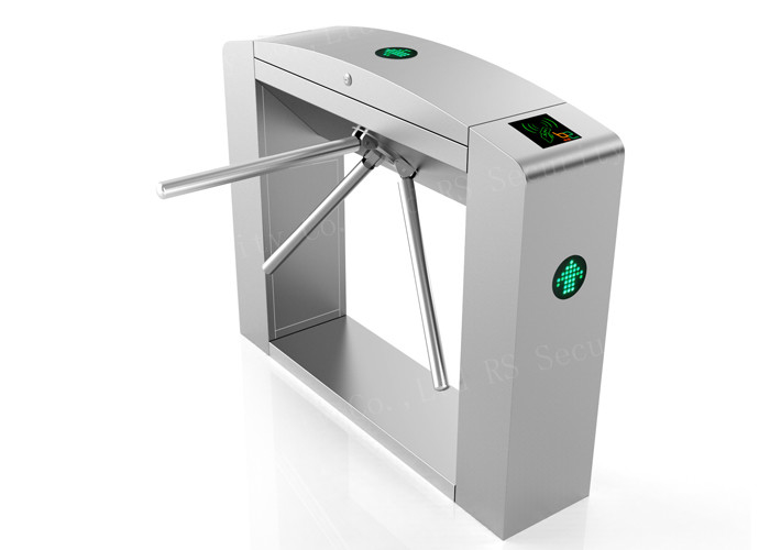 Full Automatic Turnstile Security Systems , waist height Tripod Turn Stile