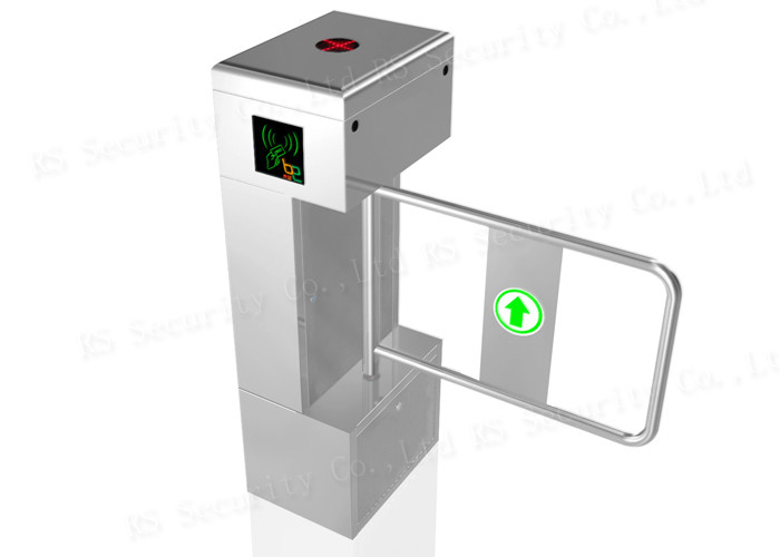 Fare Gates Automatic Turnstiles , Entrance Turnstyle Barrier Swing Door