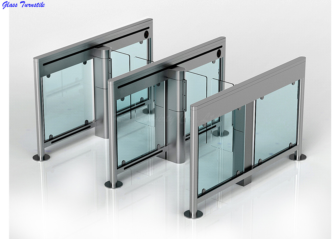 Speed Lane Turnstile Security Systems, Auto Swing Gate Optical Turnstiles