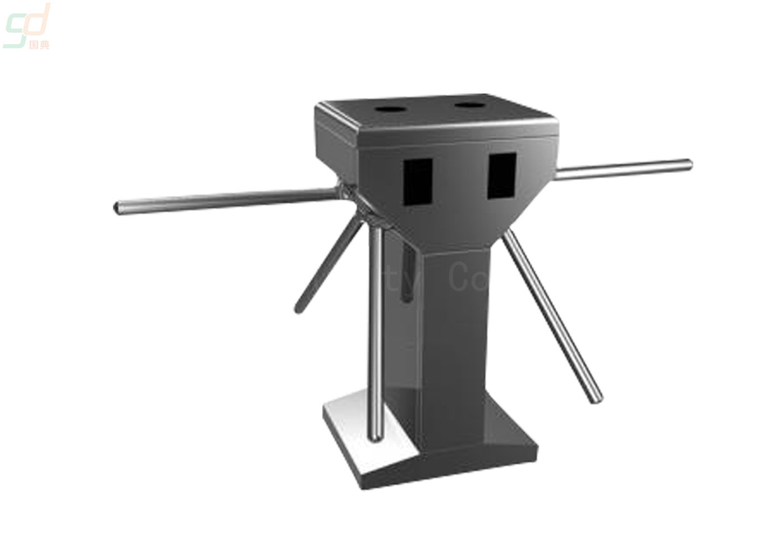 User Friendly Automatic Tripod Barrier Gate Dual Security Turnstile