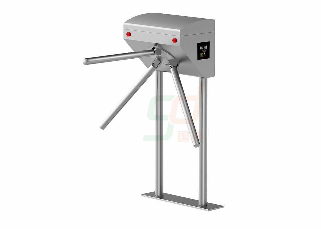 Auto Waist Height Turnstiles Pedestrian Tripod Turnstile Barrier Gate