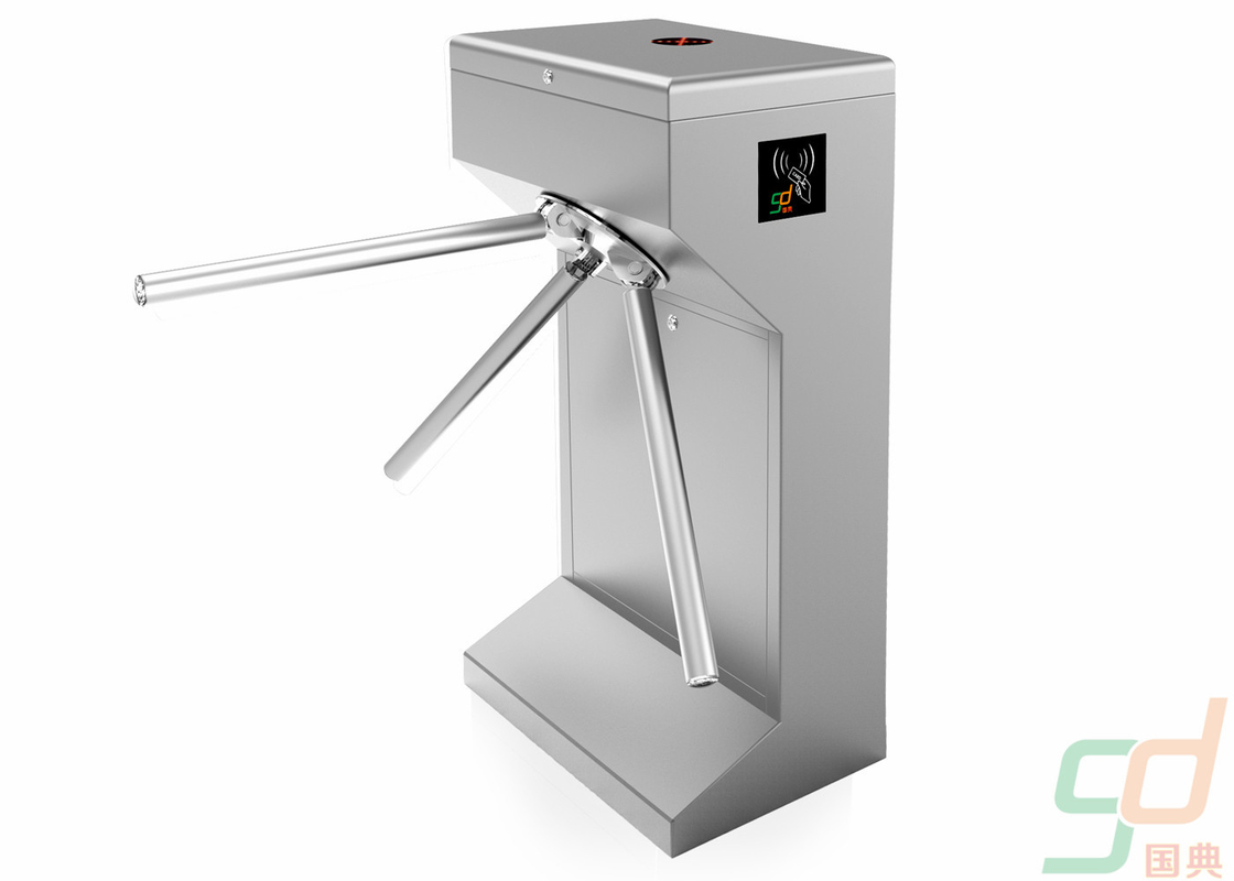 304 Stainless Steel Controlled Access Turnstiles High Safety Gate