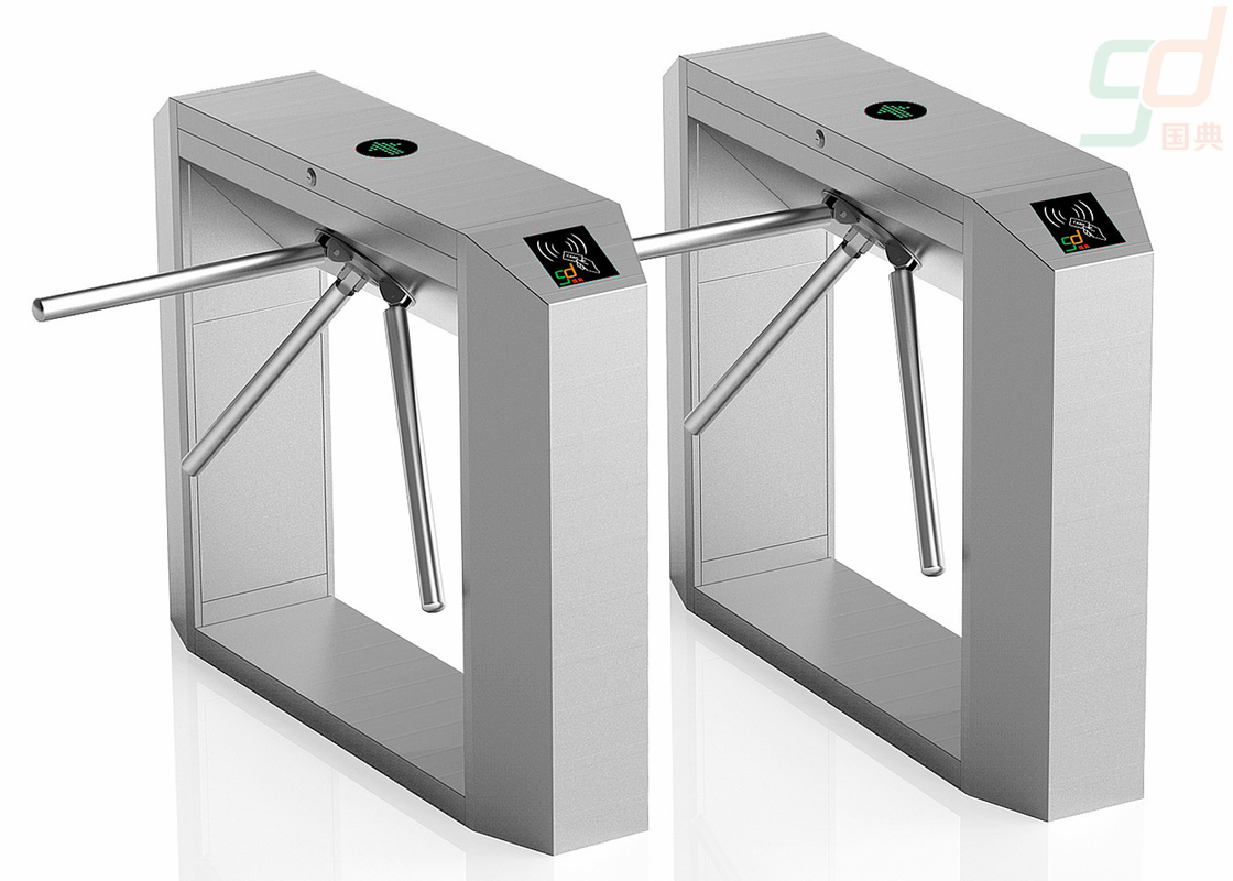 2.0Mm Thickness 3 Arm Turnstile Gate / Full Automatic Access Control Systems