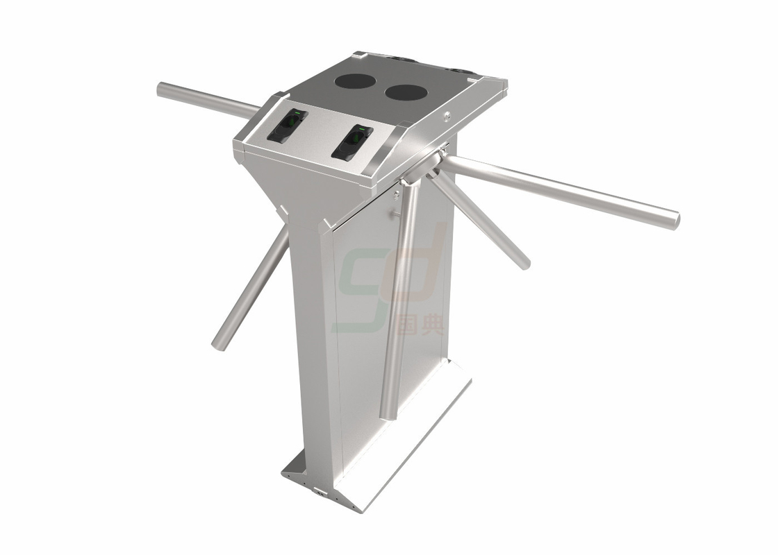 Subway Auto Tripod Turnstile Gate Controlled Access Bidirectional Control