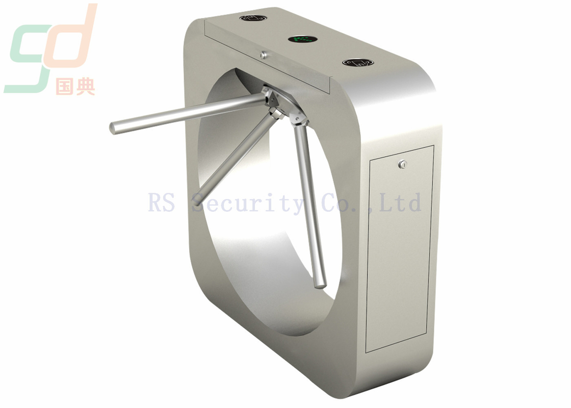 Stainless Steel Tripod Turnstile Gate, Subway Security Gate Systems