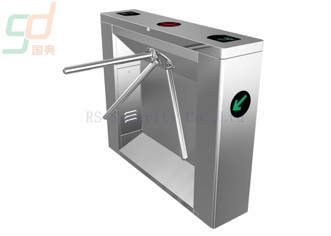 Butterfly Tripod Turnstile Gate With 80KG Maximum Bearing Capacity