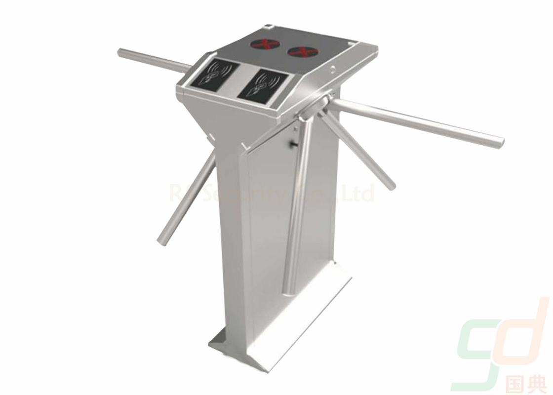 Security Pedestrian Tripod Turnstile Gate Barrier Hotel Lobby And Tourist