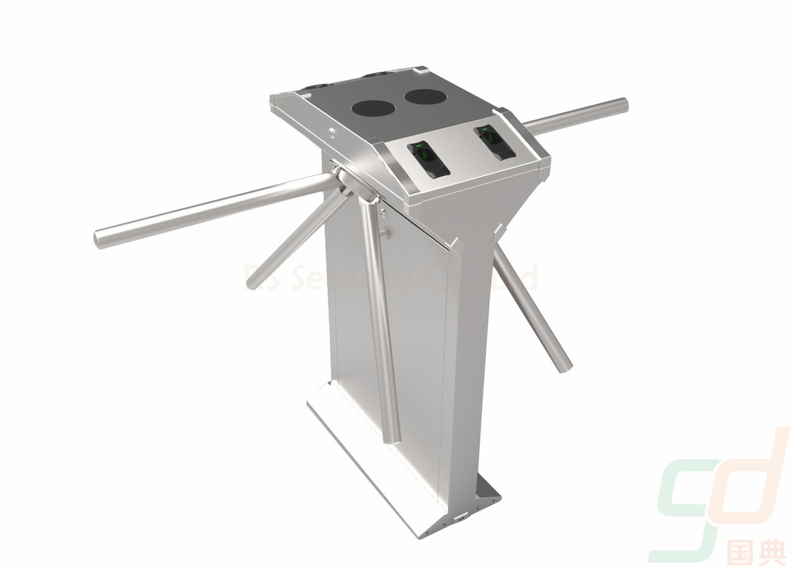 Customized Dustproof Tripod Turnstile Gate , Half Height Turnstile Barrier With RFID Reader