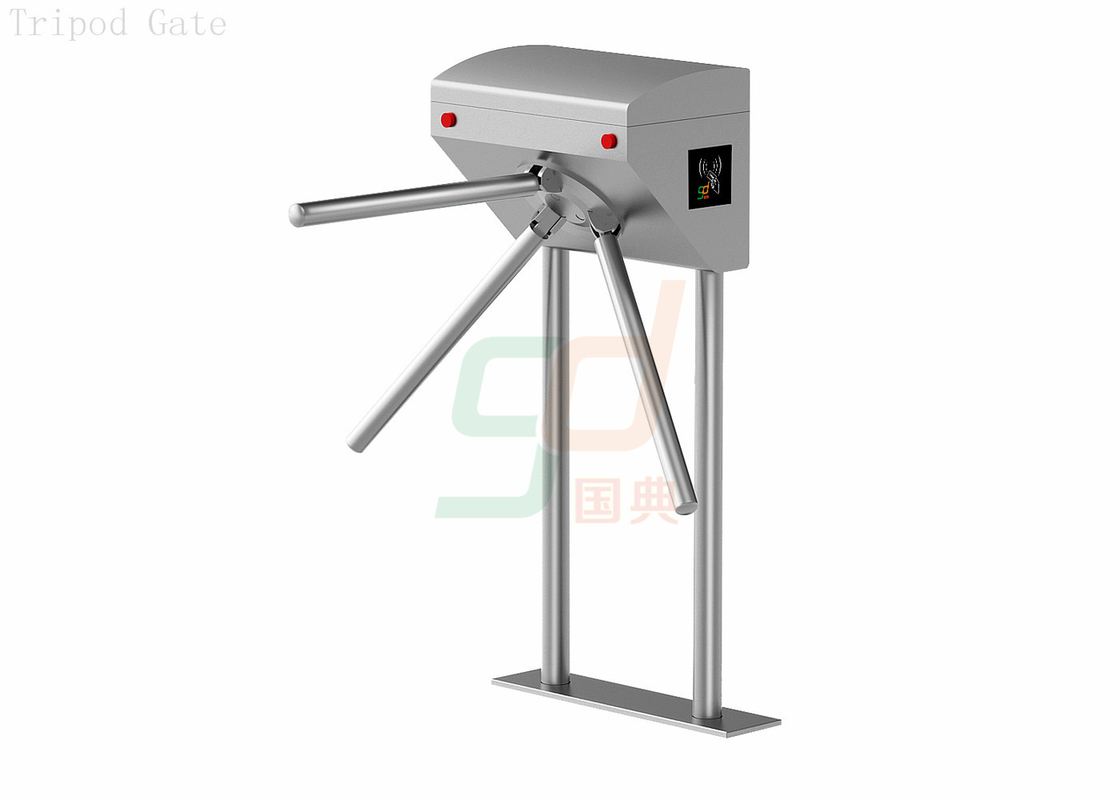 Aesthetic Tripod Turnstile Security System In Wharf Access Managemet