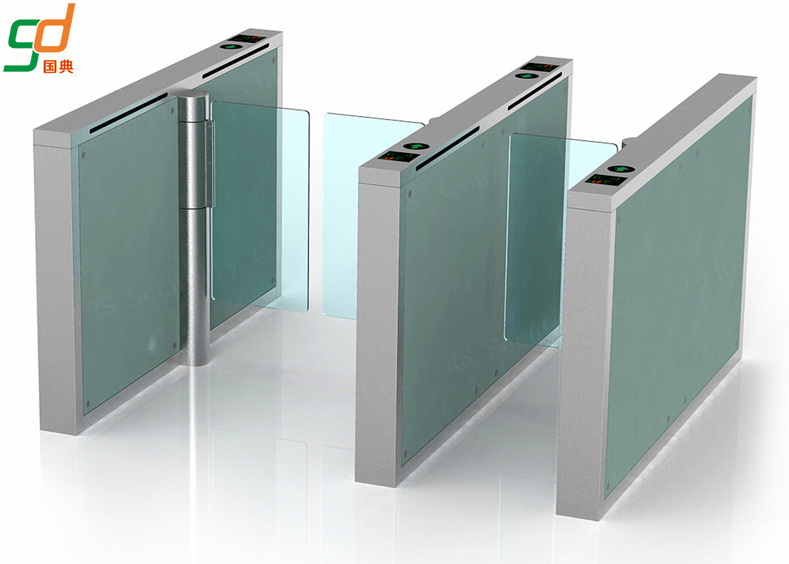 Intelligent Waterproof Automatic Turnstiles,Glass Wings Barrier Gate Solution