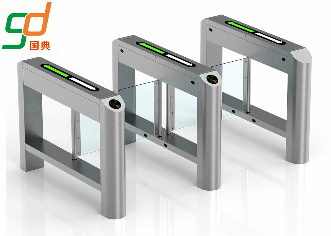 High-Class Automatic Turnstiles  Swing Barrier  For Pedestrains and Motor Bikes