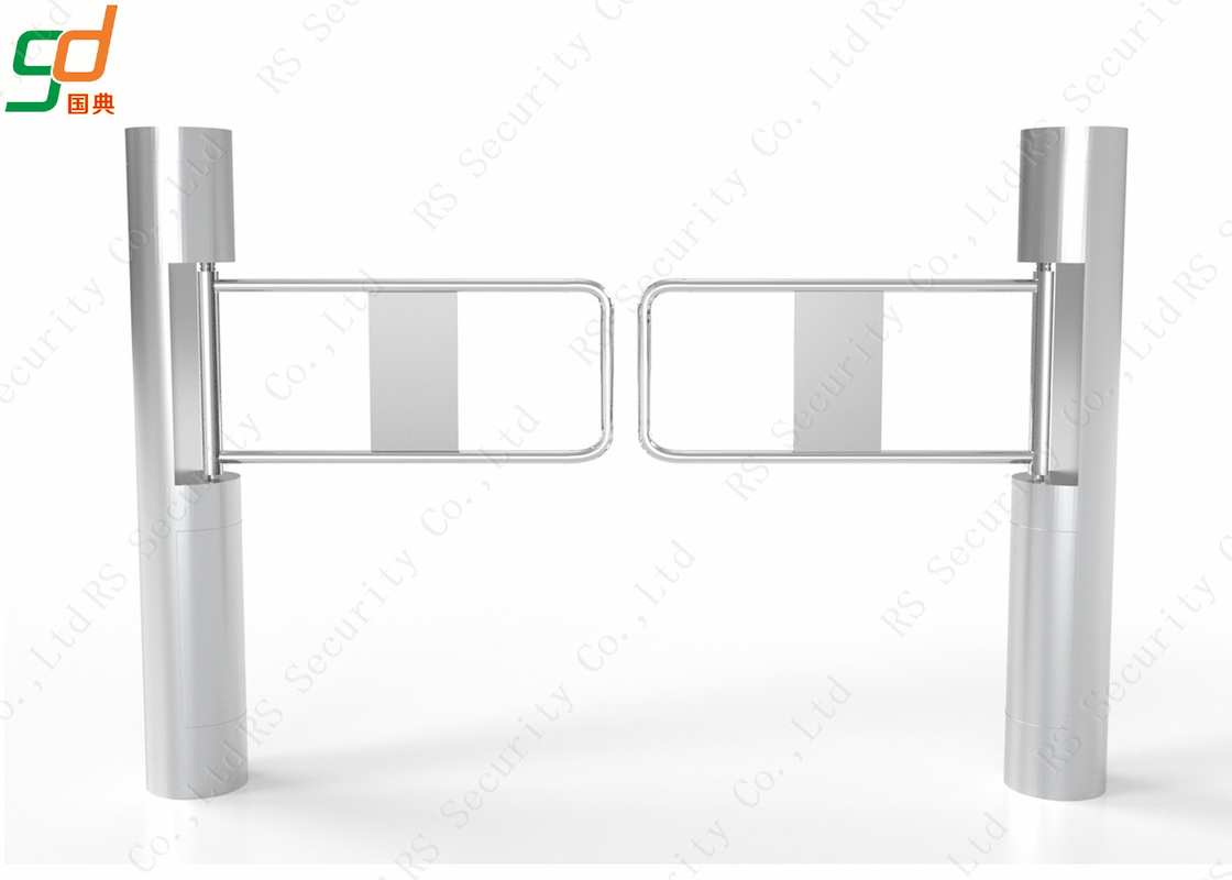 Mechanical Entrance and Exit Supermarket Swing Turnstile Gate Bi - direction