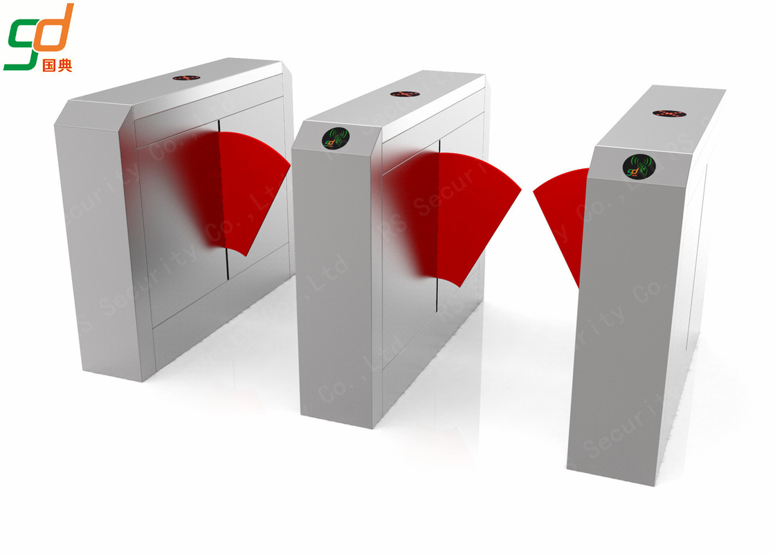 Smart Security Flap Barrier Gate Wing Arm Can Adjusted Synchronously Turnstile