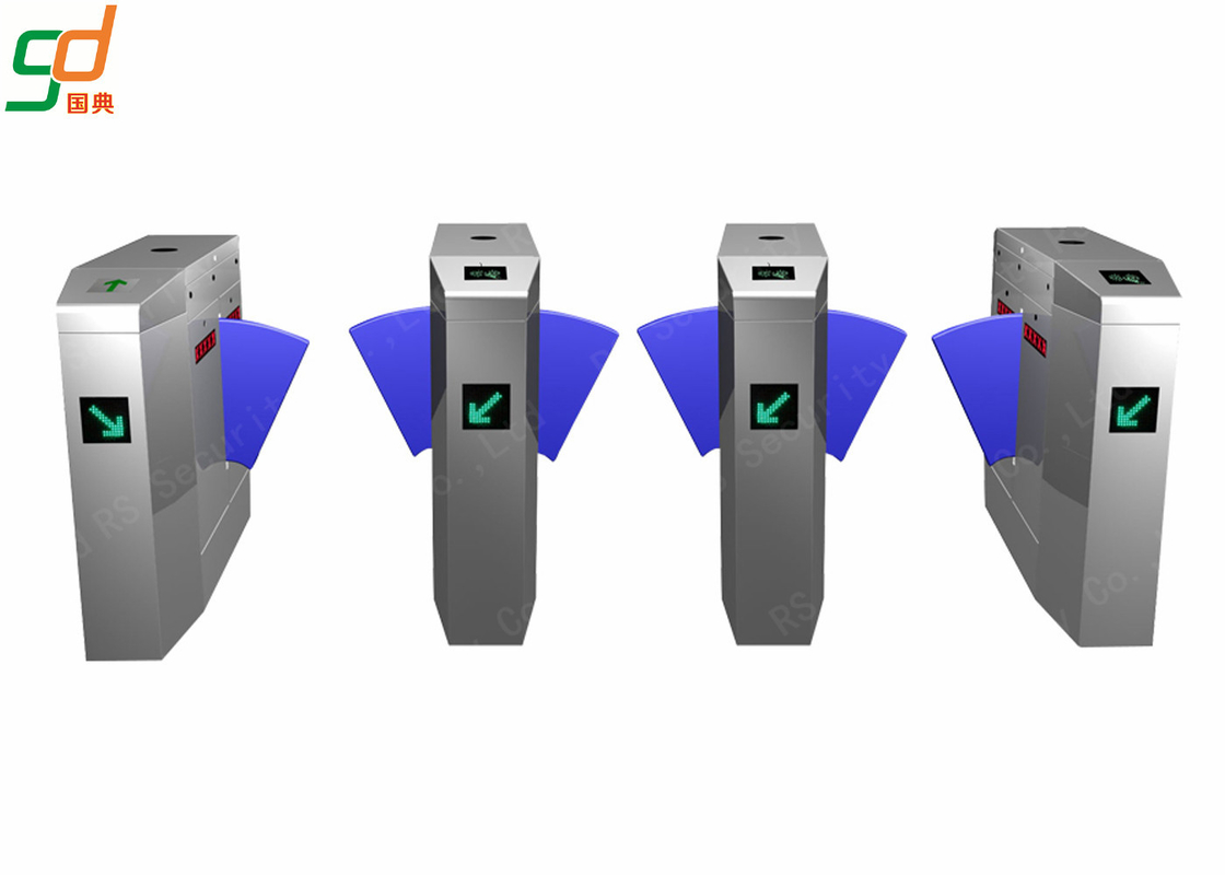 Pedestrian Automatic Flap Barrier,Access Control Turnstile System