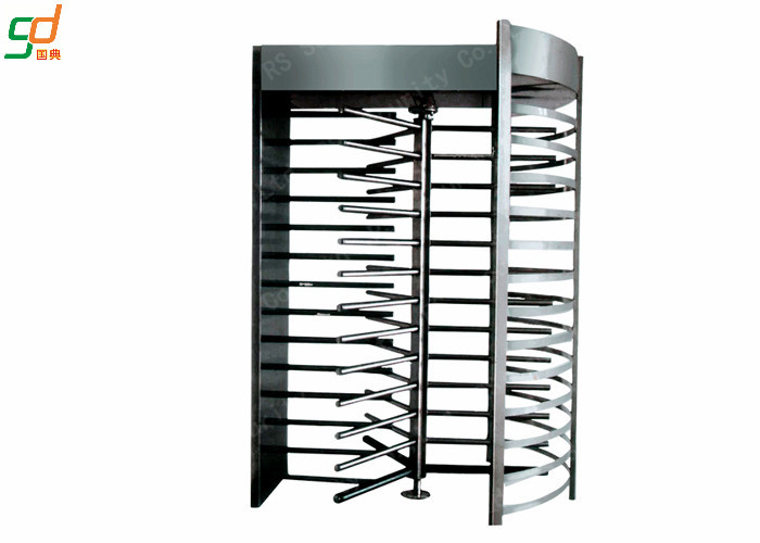 Stadium Single Chanfnel Controlled Access Turnstile Security Gates Waterproo