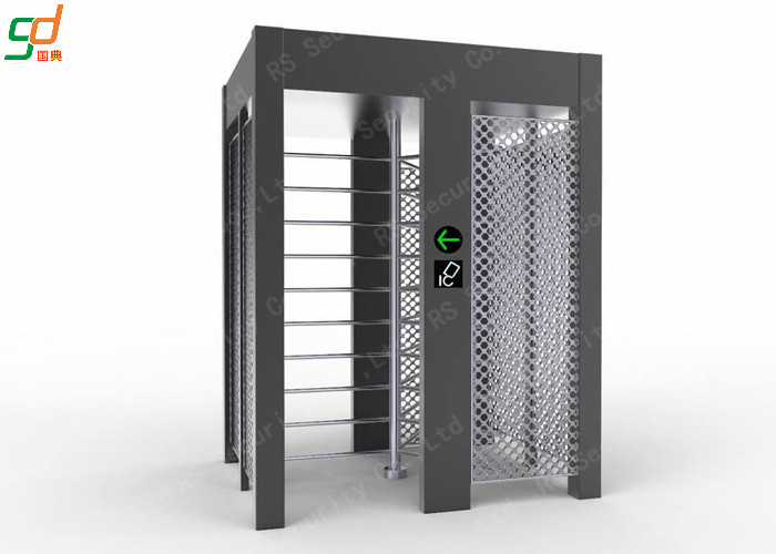 Single Lane Full Height Turnstile , Controlled Access Airport Turnstile Security Solutions