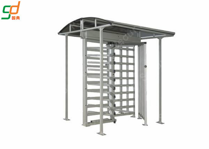 Dual Passage Full Height Turnstiles Gate Single Channel Access Control System