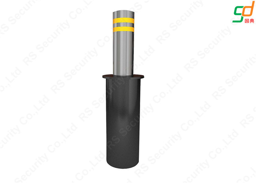 316 Stainless Steel Automatic Rising Bollards , Automatic Bollard Systems IP68