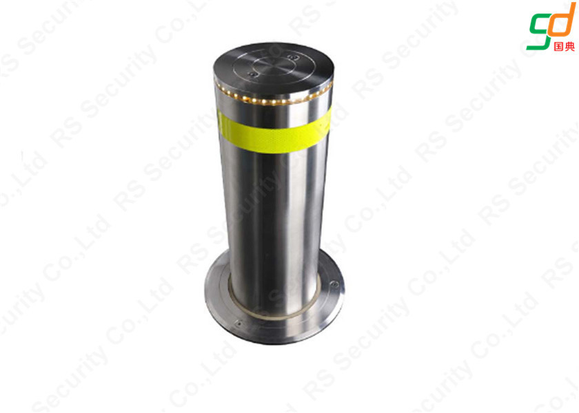 Fixed Hydraulic Bollards , Automatic Parking Bollards K12 Rated High Security