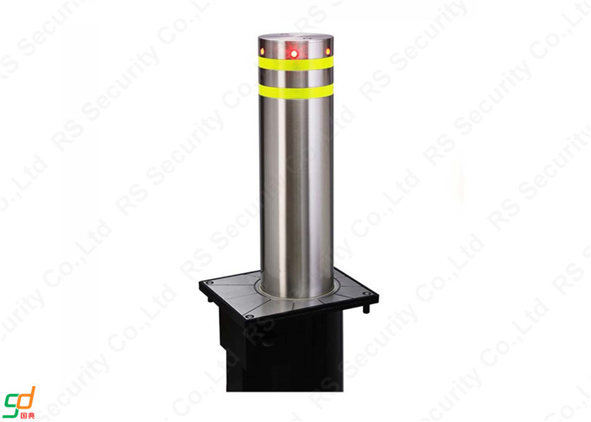 Low Energy Consumption Stainless Steel Bollards Fixed Barriers Access Controller