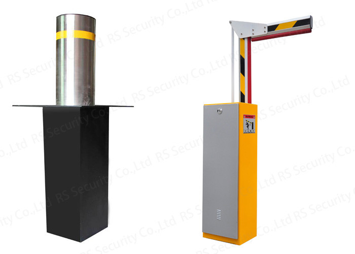 Curved Bar Retractable Barrier Gate Intelligent Car Parking System